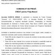 """Cod contract: POSDRU/161/2.1/G/141090 Titlu proiect: """"Creativitatea ca Resursă Educaţională de Antrenare a Tinerilor pentru Piaţa Muncii (CREAT pentru piaţa muncii) Data publicării: Septembrie 2015 COMUNICAT DE PRESĂ CREAT pentru Piaţa..."""