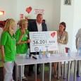 CEC-ul campaniei şi mulţumirile noastre colegilor, clienţilor pentru efortul depus în strângerea sumei de 23.701,28 lei şi, împreunã cu donaţia din partea cora Drobeta, în valoare de 12.500 de lei...