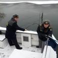 Încã o misiune încheiatã cu bine pentru echipajul de pe şalupa de patrulare şi intervenţie a Poliţiei de Frontierã Mehedinţi. A fost un ger de crapã pietrele azi noapte, (luni...