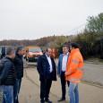Preşedintele Consiliului Judeţean Mehedinţi, domnul Aladin Georgescu, împreunã cu prefectul judeţului Mehedinţi, domnul Nicolae Drãghiea, alãturi de directorul Direcţiei Regionale de Drumuri şi Poduri Craiova, domnul Bogdan Bratu, au efectuat...